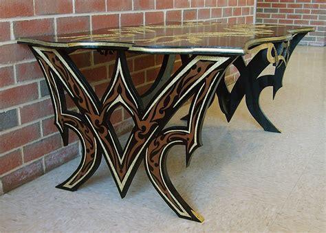 Tribal Tattoo Furniture Tribal Tattoo Coffee Table