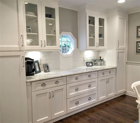 What To Do With White Kitchen Cabinets by Providence White Ready To Assemble Kitchen Cabinets