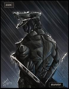 Kroenen In The Rain by VulpineVampiress. Arm blades dude ...