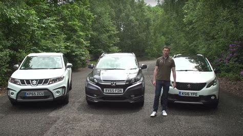 peugeot open europe review suzuki vitara takes on peugeot 2008 and honda hr v in tiny
