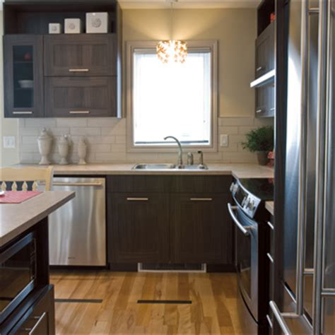 install pre fabricated kitchen cabinets  rona