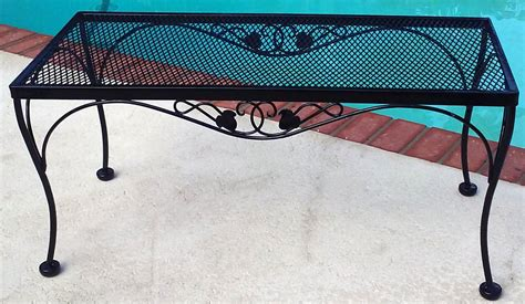 wrought iron refinishing furniture repair sarasota