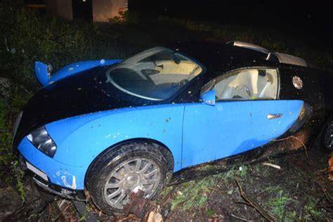 Crashed Bugatti Veyron Sells At An Amazingly Low Price
