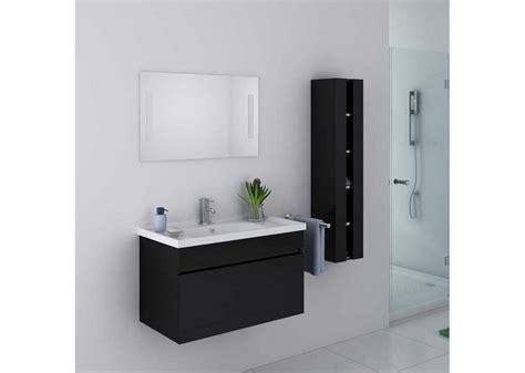 meuble de salle de bain noir brillant meuble de salle de bain noir dis800an