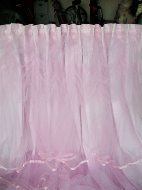 pink tulle curtains romancing  home pink tulle