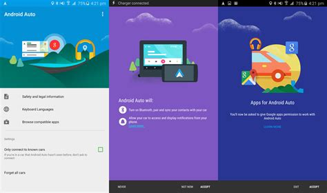 Android Auto Bedienkonzept Design by Four Hours With Android Auto Gizmodo Australia