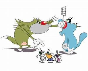 Image - Jack and Oggy and cockroaches.jpg - Oggy and the ...