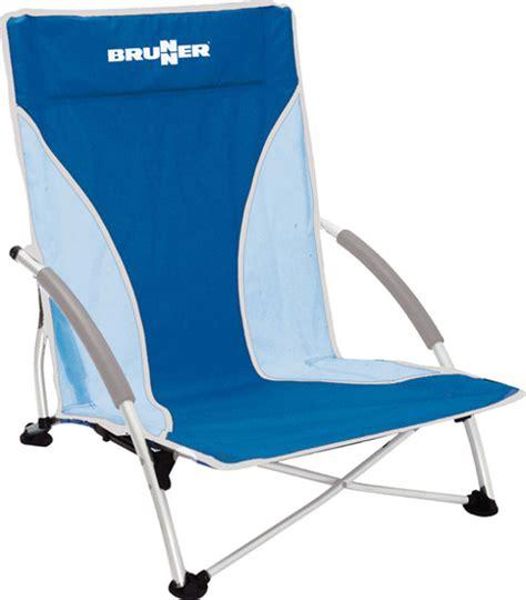 Chaise De Plage Brunner Cuba Bleue  Raviday Camping