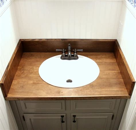Diy Wood Bathroom Countertop An Easy Way To Change Your. Santa Fe Style Homes. Coastal Cabinets. Cottage Style Bathroom. Olympic Glass. Unique Bedroom Sets. Kitchen Booths. Design Development Nyc. Long Sofas