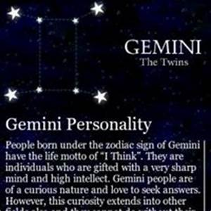 Information about Gemini Zodiac Sign Meaning - yousense info