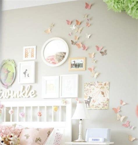 Kinderzimmer Ideen Für Mädchen Schmetterling by Zimmer M 228 Dchen Schmetterlinge Wand Deko