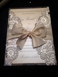 doily wedding doilies and wedding invitations on pinterest With wedding invitations using doilies