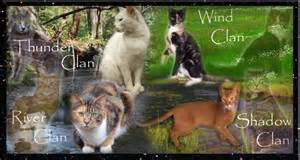 clan of cats warrior cats clan images the 4 clans wallpaper and