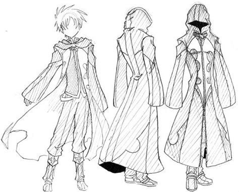 Cloak Cape How To Draw Mangaanime How To Draw Manga