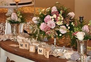 Sweetheart Table Centerpiece — FlowerDuet com