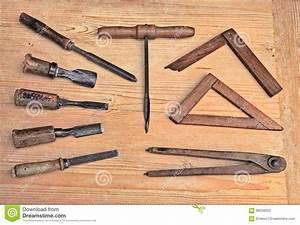 Video Travail Du Bois : vieux outils de travail du bois photo stock image 68558322 ~ Dailycaller-alerts.com Idées de Décoration