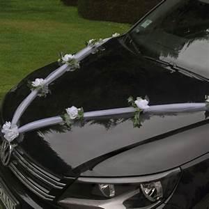 Deco Avec Piece De Voiture : guirlande de tulle pour decoration de voiture mariage badaboum ~ Medecine-chirurgie-esthetiques.com Avis de Voitures