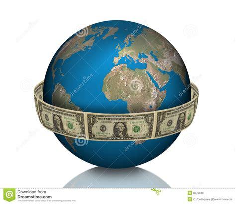 global business earth money royalty  stock  image