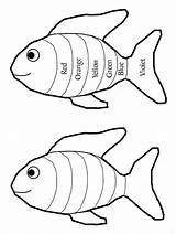 Fish Rainbow Template Drawing Coloring Pdf Templates Activity Pattern Colouring Pages Getdrawings sketch template