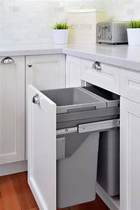 outstanding open canvas bins with hidden garbage shaker With kitchen colors with white cabinets with se bike stickers