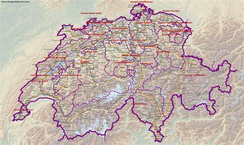 Karten und Stadtpläne Schweiz
