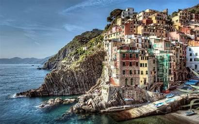 Italy Riomaggiore Wallpapers Desktop Cut Italia