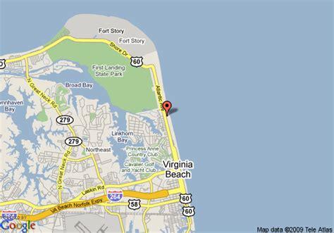 map  wyndham virginia beach oceanfront virginia beach