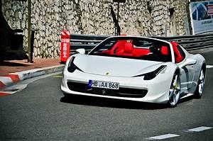 White Ferrari with red interior | dream cars. | Pinterest ...