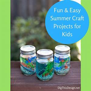 Summer Crafts for Kids to Enjoy - Dig This Design