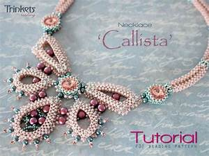 Beading Pattern For Necklace  U0026 39 Callista U0026 39
