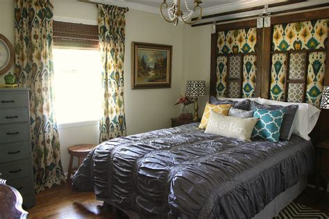 Bedroom Makeover : Industrial Glam Master Bedroom Makeover Reveal