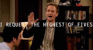 20 High Five GIFs For Neil Patrick Harris' Birthday ...