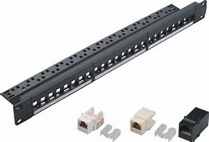 China 24 Port Keystone Jack Patch Panel  Yh-4020
