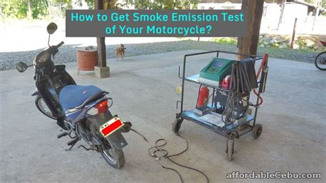How To Get Smoke Emission Test Of Your Motorcycle