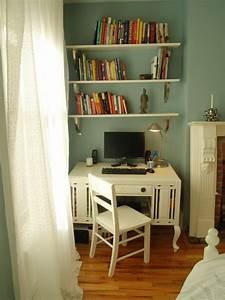 Photos of desks used in bedrooms popsugar home for Bedroom desk ideas