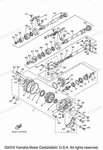 Yamaha Side By Side 2015 Oem Parts Diagram For Front Differential
