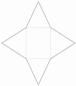File Geometric Net Of A Rectangular Pyramid Svg