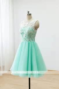 green bridesmaid dresses custom lace bridesmaid dress prom dress mint green dress knee dress 2268646 weddbook