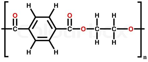 what is structural formula structural formula of polyethylene terephthalate