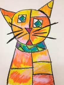paul klee cat and bird splats scraps and glue blobs of no how about