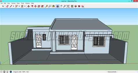 desain rumah minimalis menggunakan google sketchup full