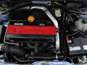 1996 Saab 900 Se Turbo Convertible Engine Photos