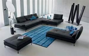 canape roche bobois en 25 photos mobilier haute de gamme With tapis design avec canape convertible roche bobois cuir