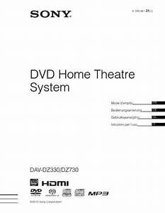 Sony Dav Dz330 Home Theater Download Manual For Free Now