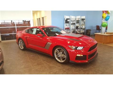 Ford Mustang 2016 Horsepower by 2016 Ford Mustang Roush Supercharged Stage 3 670