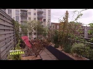 Aménagement Terrasse Appartement : am nagement terrasse installer un brise vue pour balcon mission v g tal m6 youtube ~ Melissatoandfro.com Idées de Décoration