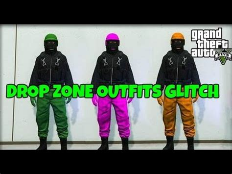GTA 5 Online u0026quot;NEWu0026quot; SAVE DROP ZONE OUTFITS GLITCH! [1.32] u0026quot;OUTFIT GLITCHu0026quot; (PS4 u0026 Xbox One) - YouTube