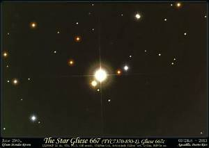 Astrophoto: Triple Star System Gliese 667 - Home of ...