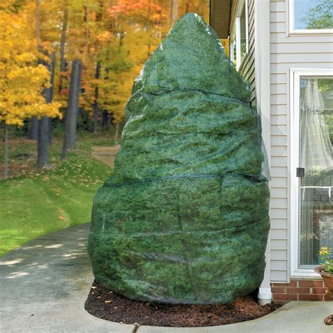 winter tree wrap synthetic burlap plant protection roll 42 shrub plants and winter plants