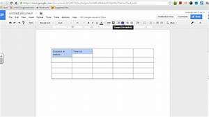 How To Make A Data Table In Google Docs